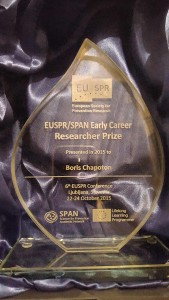 EUSPR/ SPAN Early Career Researcher Prize